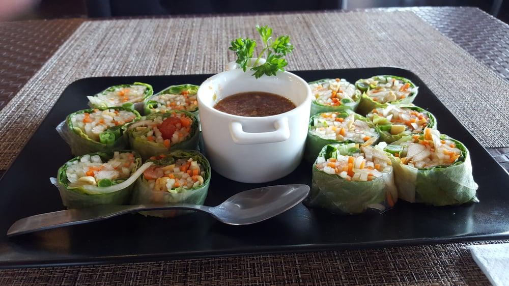 Papaya Roll (Vegan)