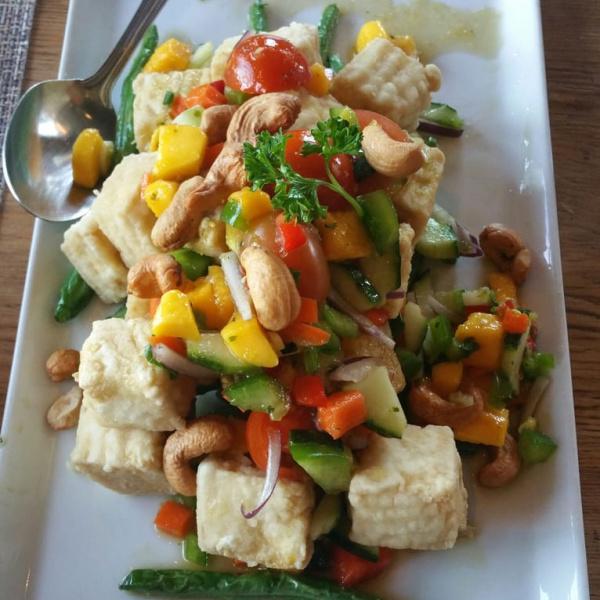 Tropical Tofu (Vegan)