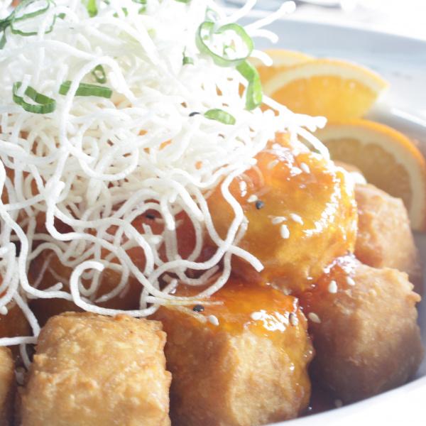 Orange Tofu (Vegan)