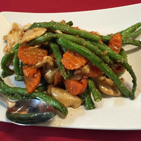 Green Bean Garlic