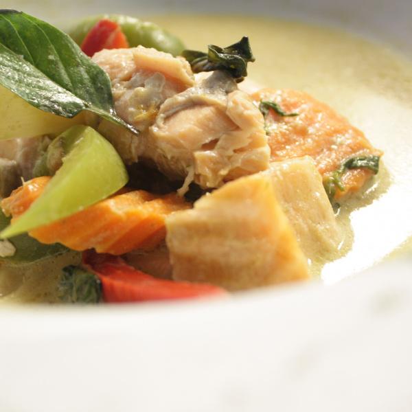 Salmon Jade Curry