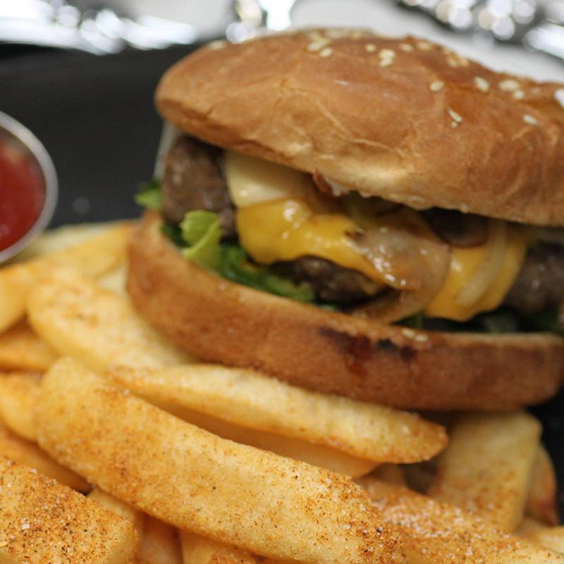 Lazeez Beef Burger
