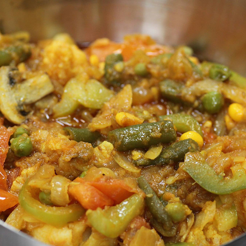Mixed Veggie Curry