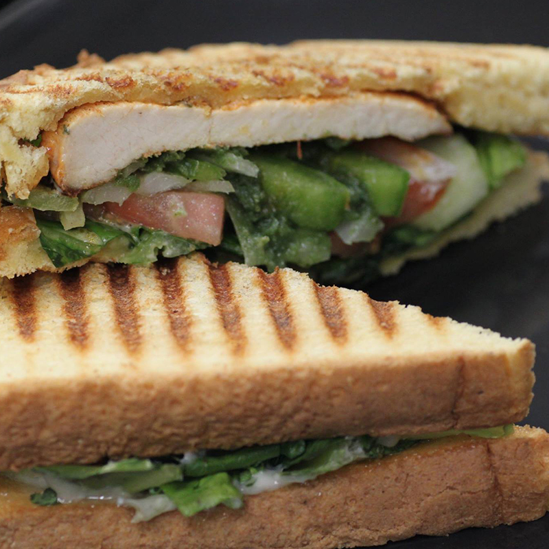 Panini Chicken Sandwich