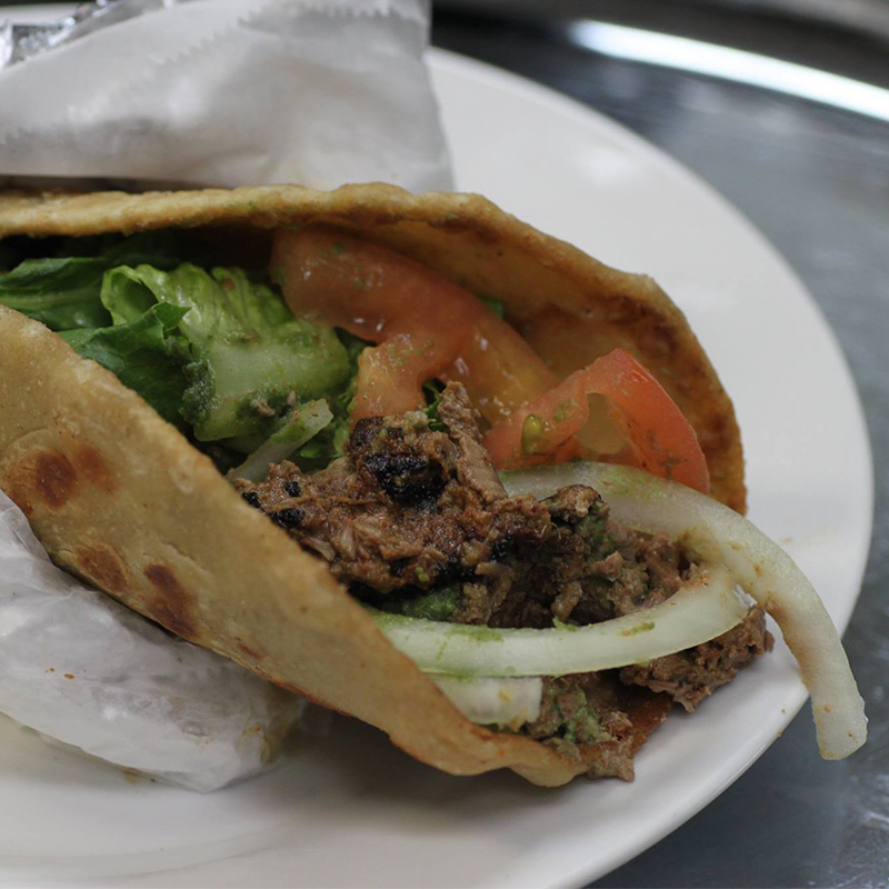 *Shawarma Wrap (Chicken or Lamb)