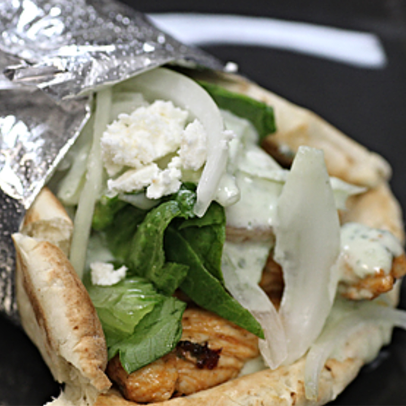 *Gyro (Chicken or Lamb)