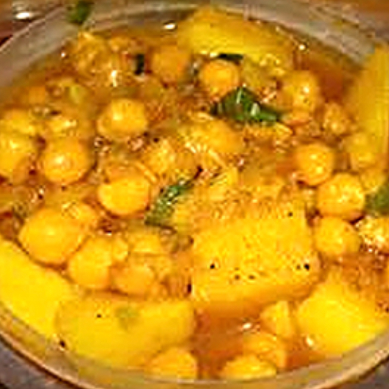 Aaloo Cholay (Vegan)