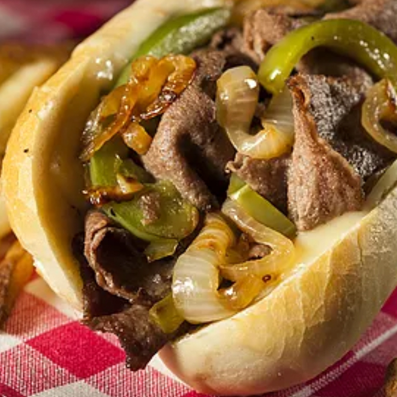 Philly Steak (Half Order) (Kids)