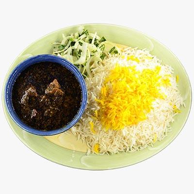 14. Ghormeh Sabzi Stew