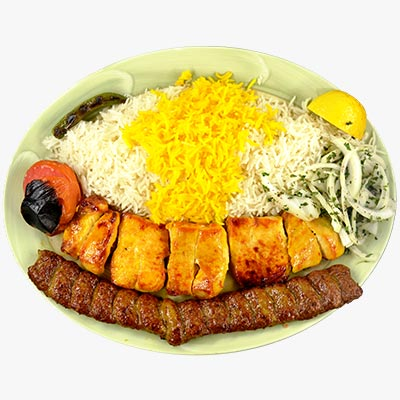 31. Chicken Kabob Soltani
