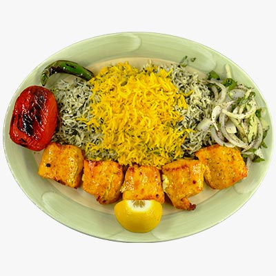 39. White Fish Kabob
