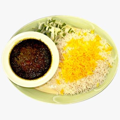 41. Ghormeh Sabzi Stew
