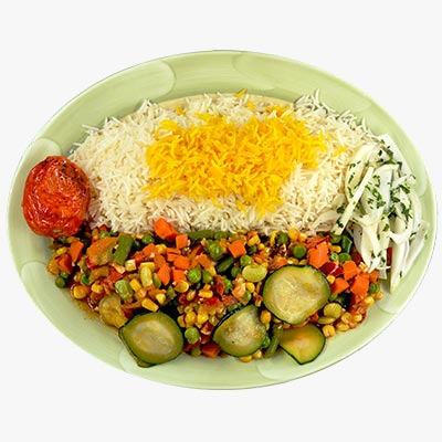 44. Veggie Plate