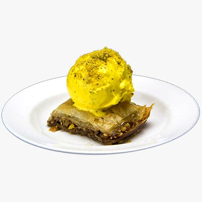 53. Baklava a la Mode