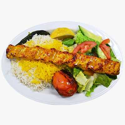 83. Chicken Koobideh Lunch