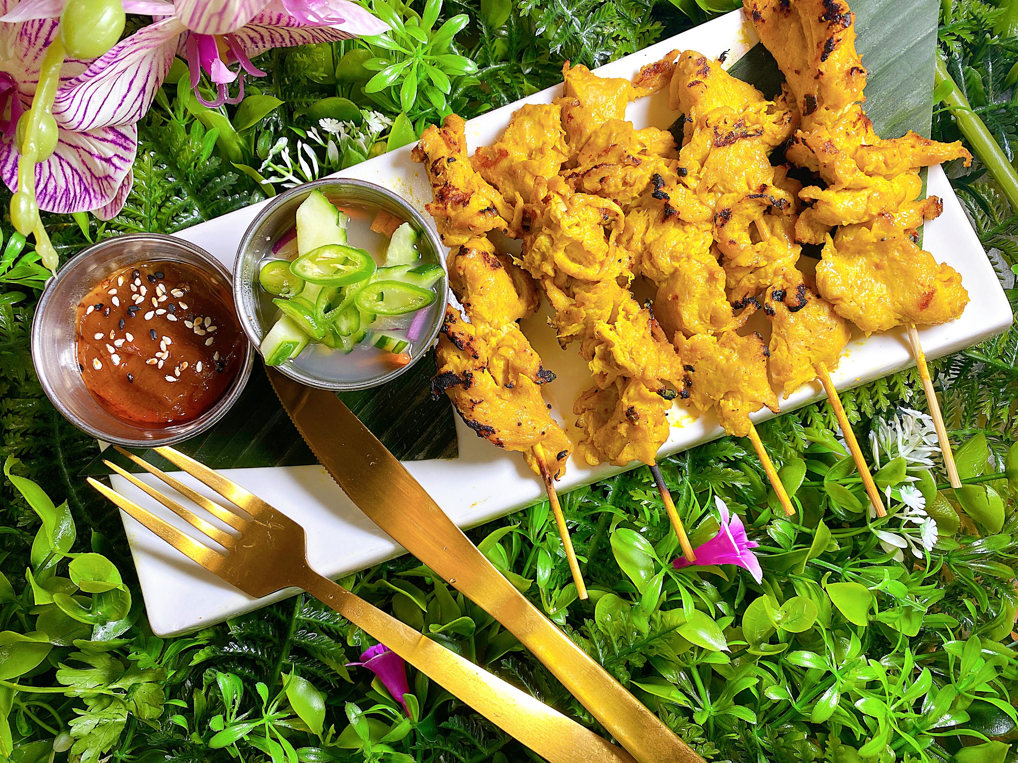 Vegan Chicken Satay