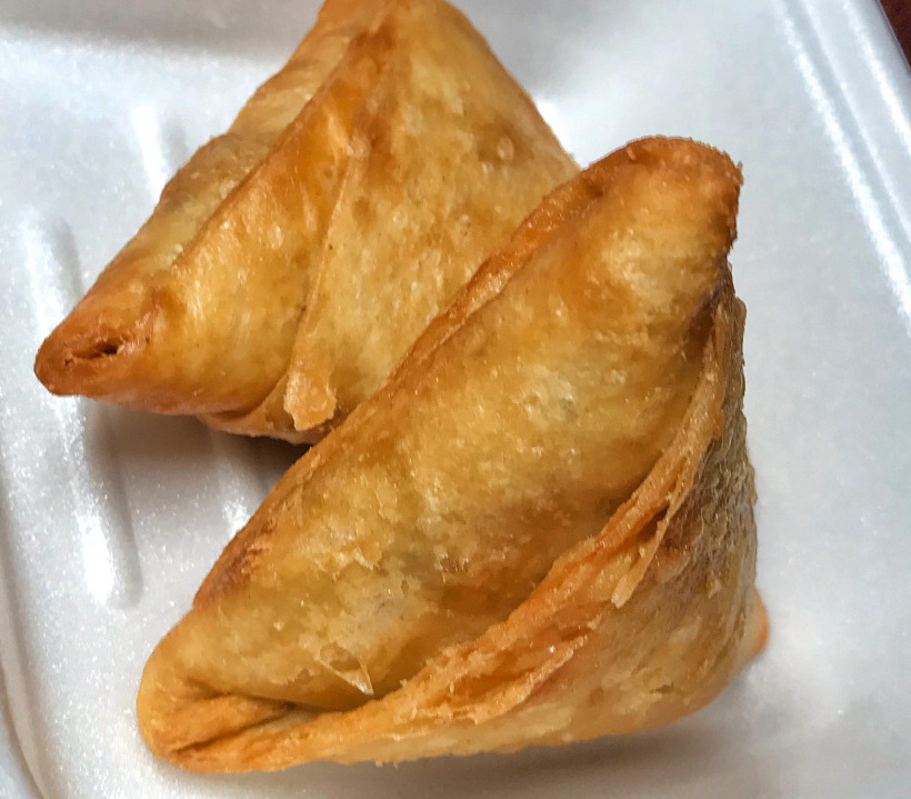 Vegetable Samosa [2pcs]