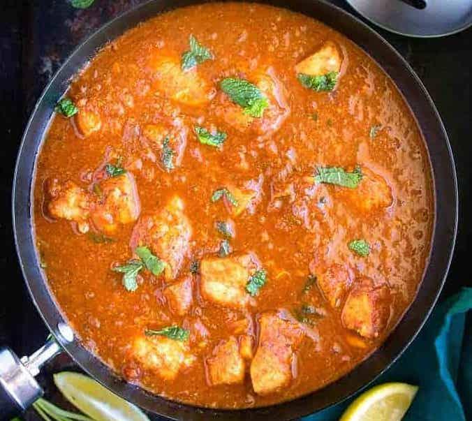 Chicken Spicy Vindaloo