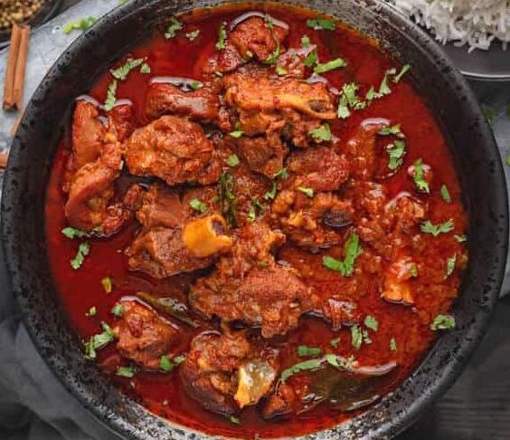 Goat Spicy Vindaloo