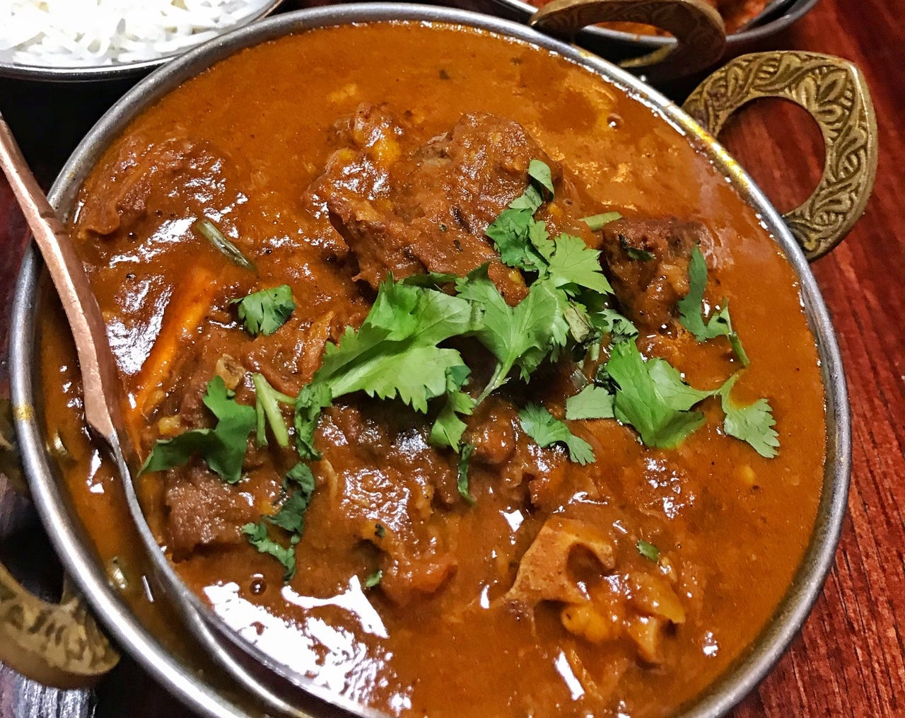 Chef's Special - Lamb Coconut Curry