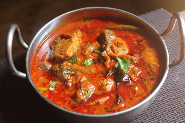 Shrimp or Fish Madras Curry - GF