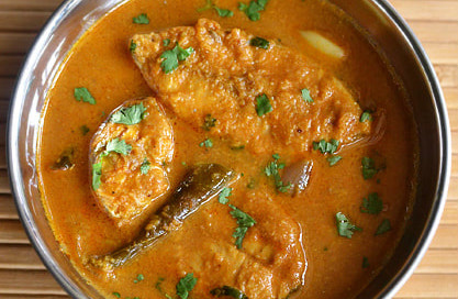 Traditional Shrimp or Fish Curry - GF