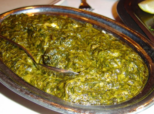 Shrimp or Fish Saag