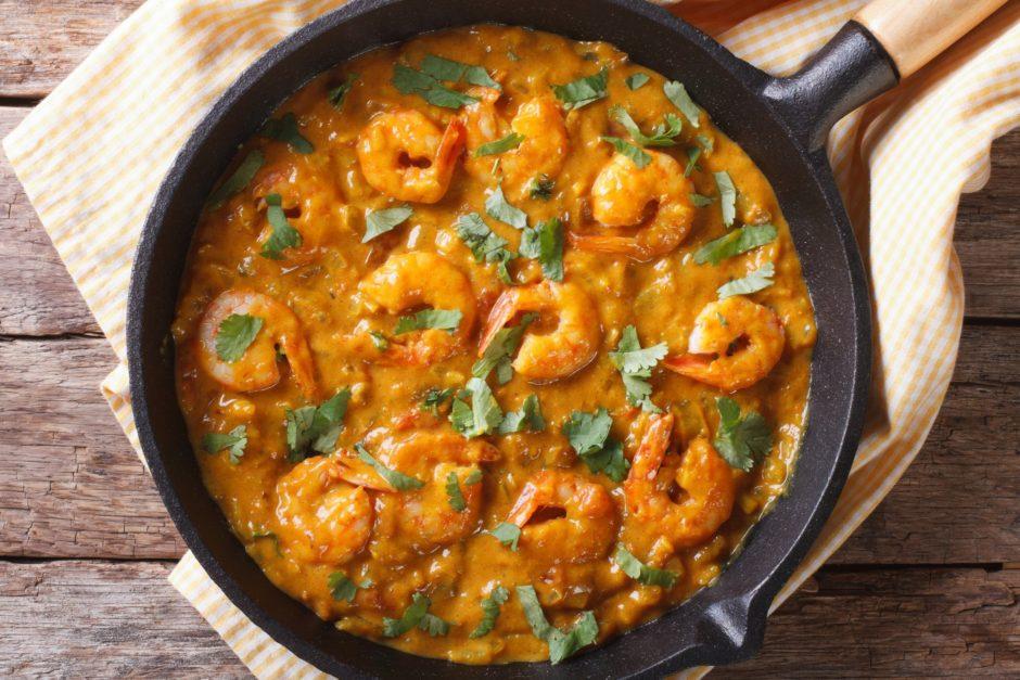 Shrimp or Fish Korma - GF