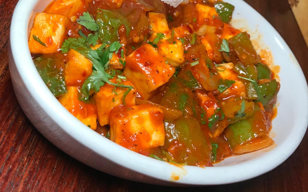 Chili Paneer - Spicy Food Lovers - GF
