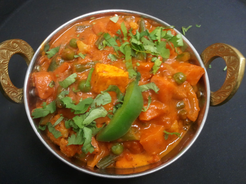 Vegetable Jalfrezi - GF